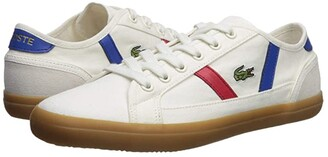 Lacoste Sideline 119 4 (Off-White/Gum) Women's Shoes
