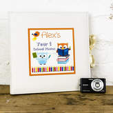Dreams to Reality Design Ltd Personalised Child's First School Year Photo Album