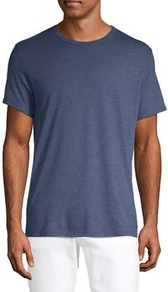 Calvin Klein Heathered Cotton Blend Tee