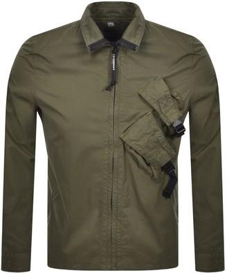 C.P. Company Long Sleeved Shirt Green