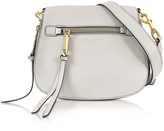 Marc Jacobs Recruit Dove Leather Small Saddle Bag