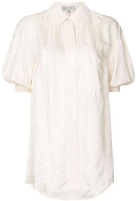 Lee Mathews Rommie puffed sleeve shirt