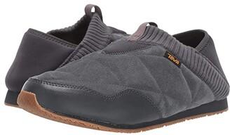 Teva Ember Moc Shearling (Dark Shadow) Men's Shoes