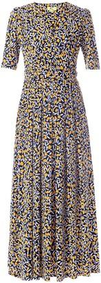 Wallis **Jolie Moi Black Printed Jersey Maxi Dress
