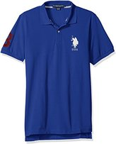 U.S. Polo Assn. Men's Solid Short-Sleeve Pique Polo Shirt