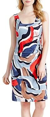 Nic+Zoe Americana Sleeveless Printed Dress