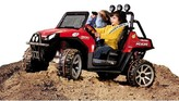 Peg Perego 24 Volt Polaris Ranger RZR - Red