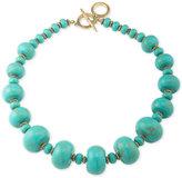 Lauren Ralph Lauren Gold-Tone Graduating Bead Statement Necklace