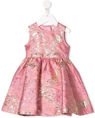 Dolce & Gabbana Jacquard Pattern Dress