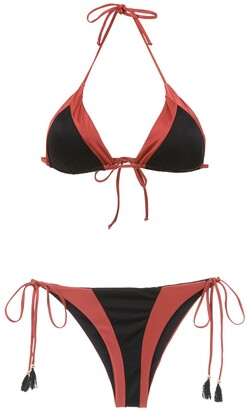 BRIGITTE Triangle Top Bikini Set