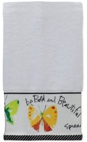 "Creative Bath Flutterby 11"" x 18"" Fingertip Towel"