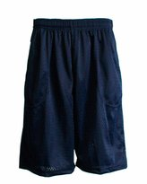 FineBrandShop Men Mesh Pocket Shorts Inner Drawstring Avail Size S-5X