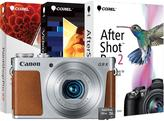 Canon PowerShot G9 X 20.2MP, Full HD 3X Optical Zoom Camera with 16GB SD EVO Memory Card and Digital Creative Suite 2.0 - Silver