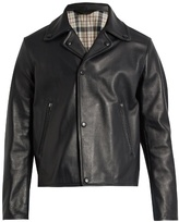 Acne Studios Awe notch-lapel leather jacket