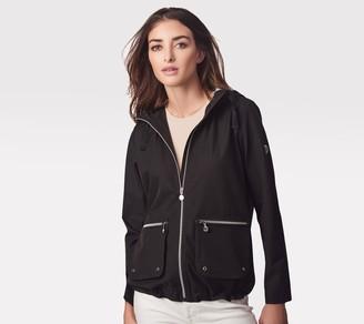 Bernardo Zip Front Jacket with Hood