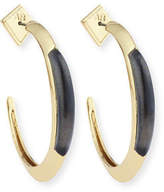 Alexis Bittar Crescent Hoop Earrings