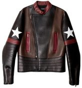 Givenchy 2016 Star Leather Jacket
