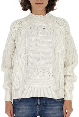 Givenchy Cable Knit Sweater