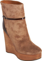 Chloé Platform Wedge Ankle Boot