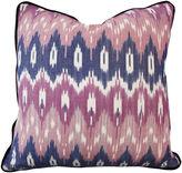 Kim Salmela Southwest 20x20 Cotton Pillow, Pink