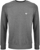 True Religion Crew Neck Sweatshirt Grey