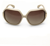 Square Sunglasses: Ivory