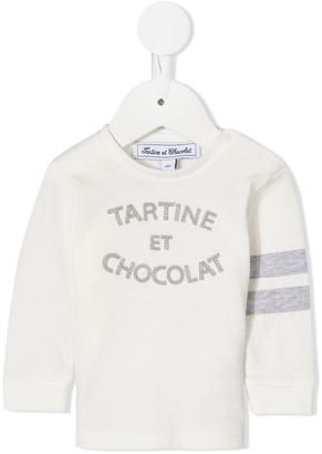 Tartine et Chocolat Crew-Neck Logo Jumper