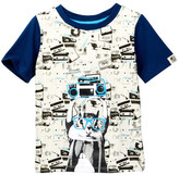 Andy & Evan Squirrel Boombox Tee (Toddler & Little Boys)