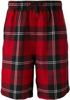 Alexander Wang tartan shorts - men - Polyester/Wool - 48