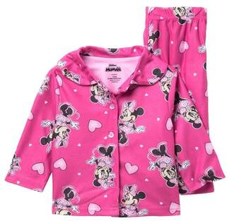 AME Minnie Mouse Pajama Set (Baby Girls)