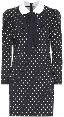 RED Valentino Polka-dot minidress