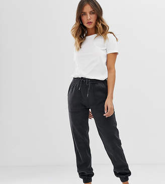 New Look utility jogger in black