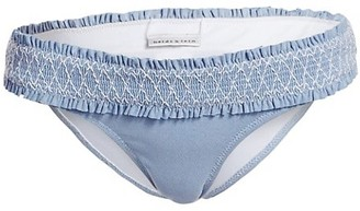 Heidi Klein Smocked Hipster Bikini Bottom