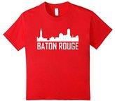 Baton Rouge Louisiana Skyline Silhouette T-Shirt