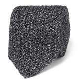 Ermenegildo Zegna - 6cm Mélange Knitted Silk And Wool-blend Tie