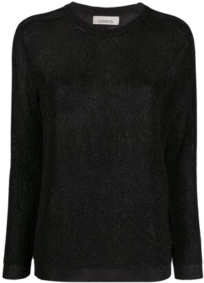 Laneus Long-Sleeve Knit Jumper