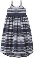 Joe Fresh Kid Girls' Stripe Dress, JF Midnight Blue (Size S)