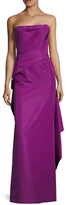 Bandeau Silk Draped Gown