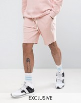 Puma Waffle Shorts In Pink Exclusive To Asos