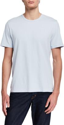 Vince Men's Garment-Dyed Crewneck T-Shirt