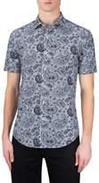 Bugatchi Shaped Fit Paisley Sport Shirt