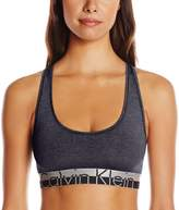 Calvin Klein Women's Magnetic Force Heathered Bralette