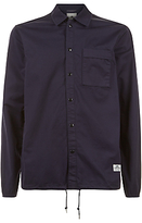 Penfield Blackstone Drawstring Hem Overshirt, Navy