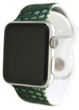 Nimitec Printed Silicone Apple Watch Band