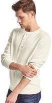 Gap French rib-knit henley