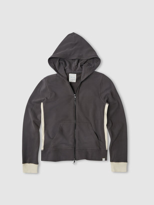 Jason Scott Colorblock Hoodie - Charcoal