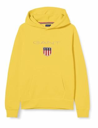 Gant Boy's Shield Logo Sweat Hoodie Hooded Sweatshirt