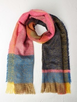 White Stuff Carrie check scarf
