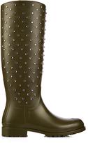 Saint Laurent Festival studded rubber boots