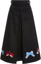 Temperley London Opal Tailoring Midi Skirt